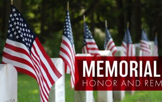 To honor and remember this Memorial Day